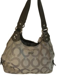 Coach Tote Monogram Hobo Bag