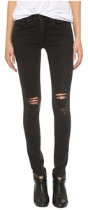 Rag & Bone Distressed Destroyed Edgy Off Duty Skinny Jeans-Distressed
