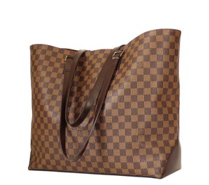 Louis Vuitton Overnighter Weeekender Tote in Brown
