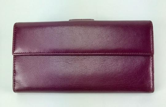 Gucci LEATHER FLAP WALLET Image 1