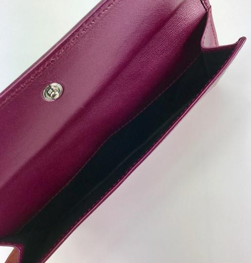 Gucci LEATHER FLAP WALLET Image 2