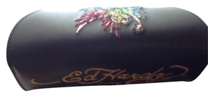 Ed Hardy Ed Hardy sunglass case with cleaning cloth