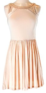 Silence + Noise short dress Tan on Tradesy
