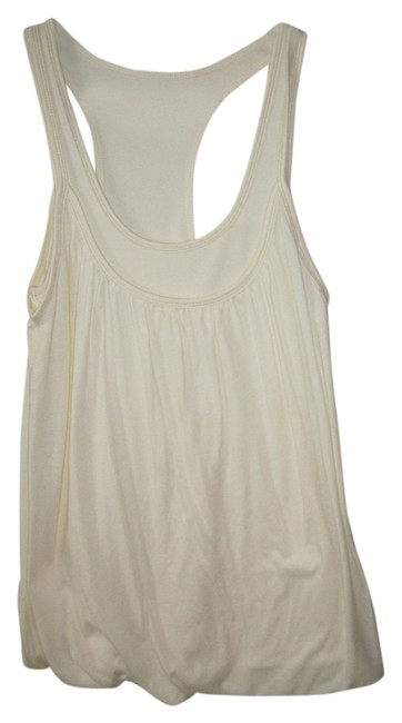 Express Racerback Top Off White