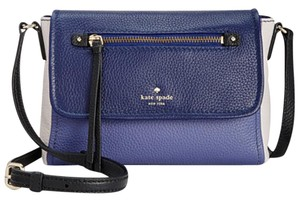 Kate Spade Mini Toddy Pebbled Leather Oystrblmut Cross Body Bag