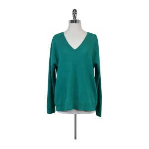 J.Crew Green Cashmere Sweater Skirt