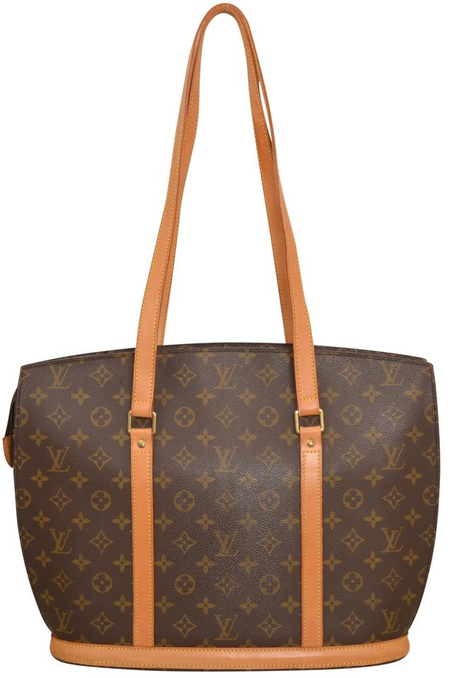 louis vuitton monogram babylone large size m51102 brown tote bag on sale 72 off totes on sale. Black Bedroom Furniture Sets. Home Design Ideas