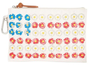 Style & Company Mini Tiny Cosmetic Tech Wristlet in Cream/Red/Yellow/Blue