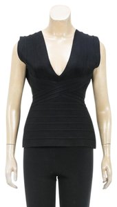 Herv Leger Top Black