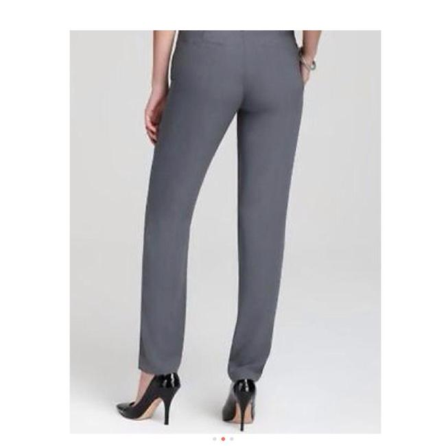 Eileen Fisher Trouser Slim Straight Leg Jeans-Light Wash Image 6