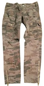 London Jean Low Rise Straight Pants Camo