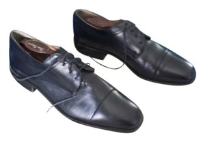 Bally Vintage Oxford Leather Black Formal