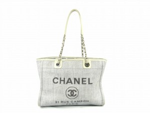 Chanel Deauville Deauville Tote Handbag Tote Luggage Shoulder Bag