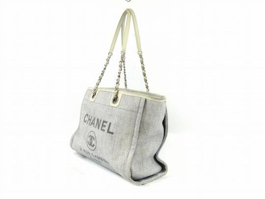 Chanel Deauville Deauville Tote Handbag Tote Luggage Shoulder Bag Image 1