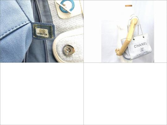 Chanel Deauville Deauville Tote Handbag Tote Luggage Shoulder Bag Image 7