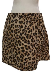 H&M Mini Skirt Brown and black