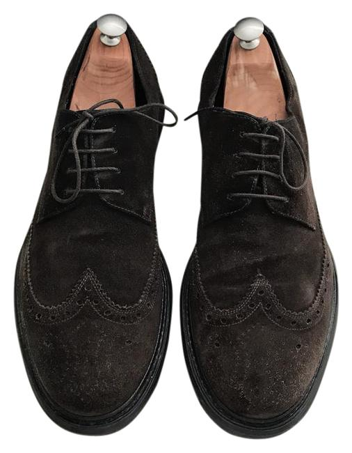 Item - Chocolate Men's Wing Tip Derby Oxford Sneakers Size US Extra Wide (Ww, Ee)
