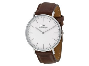Daniel Wellington Daniel Wellington Male Bristol Watch 0209DW Silver Analog