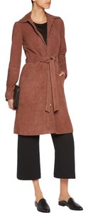 Elizabeth and James Nwot Suede Belted Olsens Classic Trench Coat