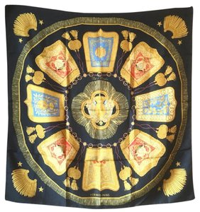 Herms Authentic Hermes Silk Scarf