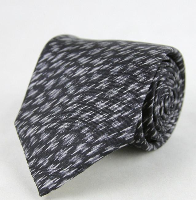 Item - Black/White And Dry Brush Pattern 325511 1061 Tie/Bowtie