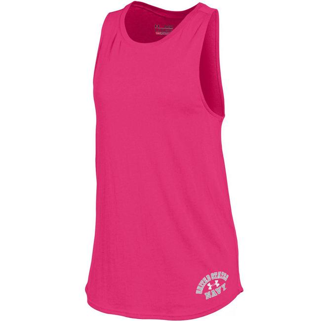 Under Armour Pink XL L Women's Us Navy Cut Out M Activewear Top Size 12 (L, 32, 33) Under Armour Pink XL L Women's Us Navy Cut Out M Activewear Top Size 12 (L, 32, 33) Image 1