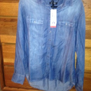 Buffalo David Bitton Button Down Shirt blue