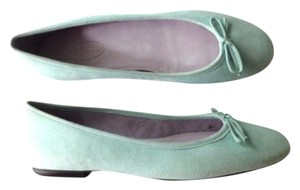 Talbots Suede Genuine Leather Light Blue Flats