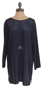 Figue Caterina Embellished 3/4 Navy Tunic