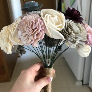 Ecoflower Bridesmaid/bridal Bouquet