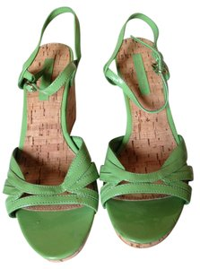 Bandolino Green Wedges