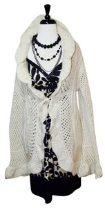 Anthropologie Boho Sweater Bell Sleeves Chunky Cardigan