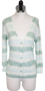 Tory Burch Tie Dye V-neck Knit Cardigan