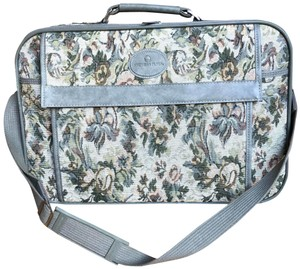 American Tourister Vintage Suitcase Luggage Carry On Black Travel Bag