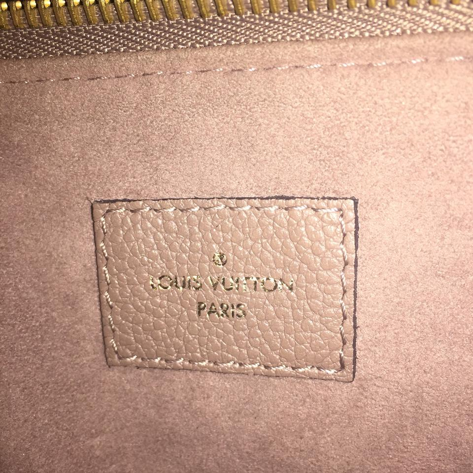 47d7af754dd3 Louis Vuitton Twinset Twice Empreinte Taupe Monogram Shoulder Tan ...