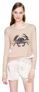 J.Crew Linen Embroidered Sweater