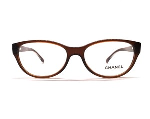 Chanel CH 3206 - Cute Brown Cat Eye Glasses - Free 3 Day Shipping