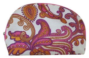 Clinique Print Paisley Pink Travel Bag