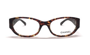 Chanel CH 3209 - Semi Round with Beautiful Real Leather Sides - Free Shipping