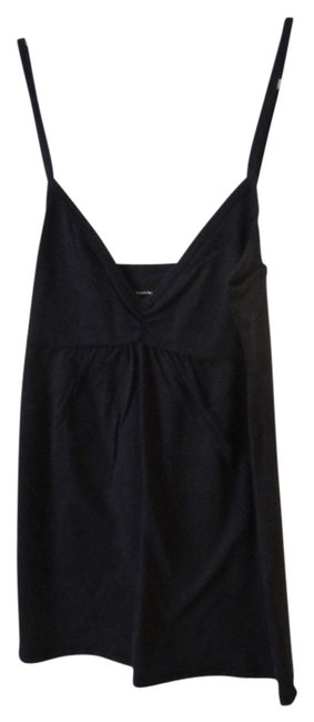 Victoria's Secret Strappy Tee Shop Top Black