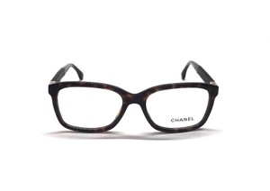 Chanel CH 3239 714 - New Square w/ Brown Quilted Sides - FAST SHIPPING!