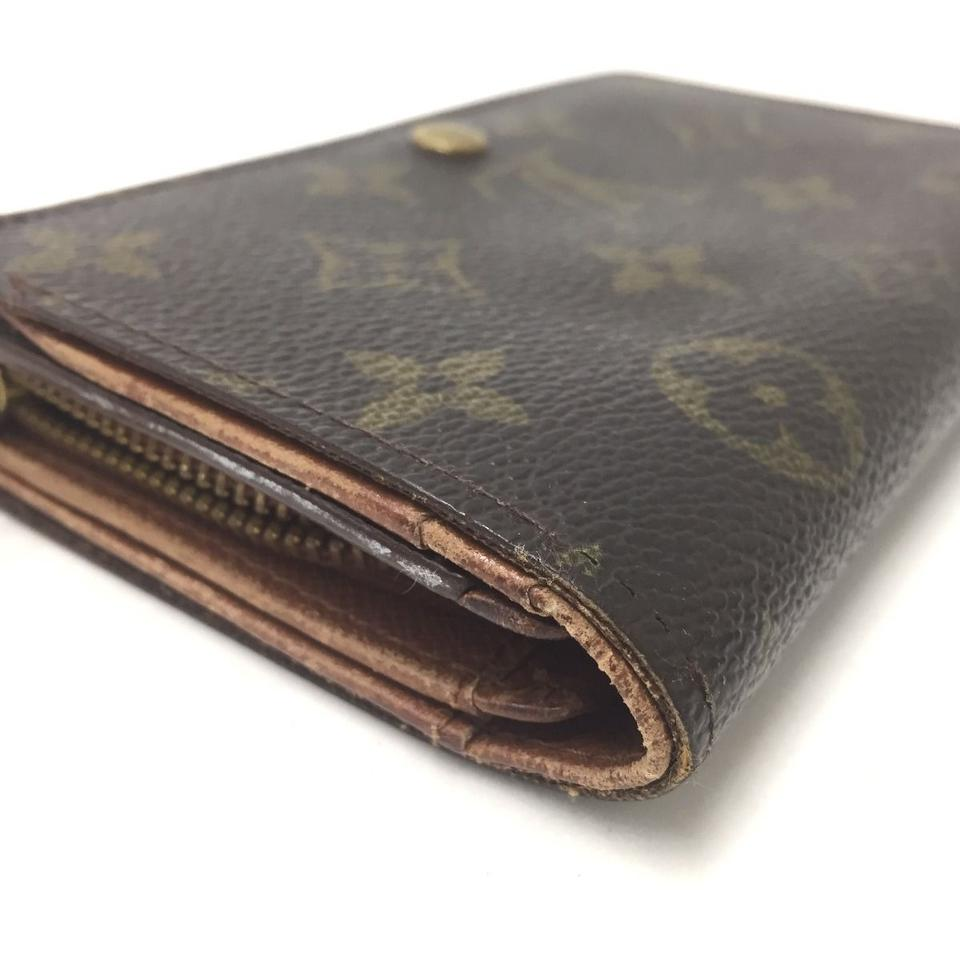 canvas wallet with coin pocket
