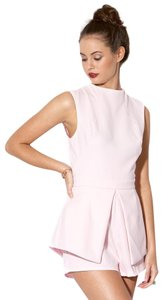 Finders Keepers short dress Powder Pink Playsuit Jumpsuit Pink on Tradesy