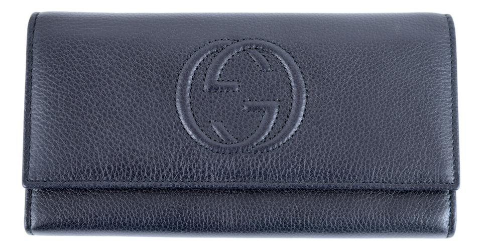 fb219a461ff764 Gucci Signature Continental Wallet Blue | Stanford Center for ...