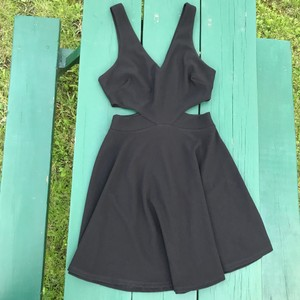 Lush Side Sexy Date Dancing Dress
