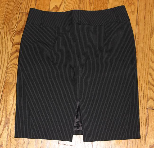 Express Black Pinstripe Pant and Skirtsuit
