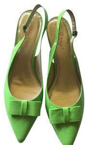Lilly Pulitzer Lime Green Pumps