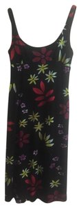 Nicole Miller Bright Floral Night Out Date Night Summer Dress