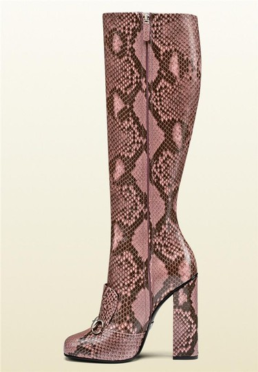 Gucci Pink/Brown Boots Image 1