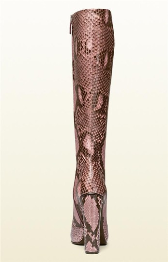 Gucci Pink/Brown Boots Image 2